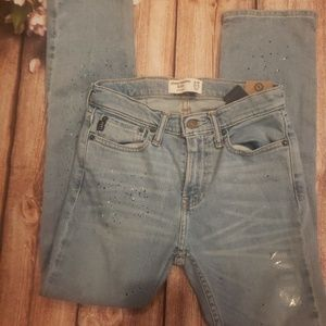 Abercrombie and Fitch nwt 11/12 slim